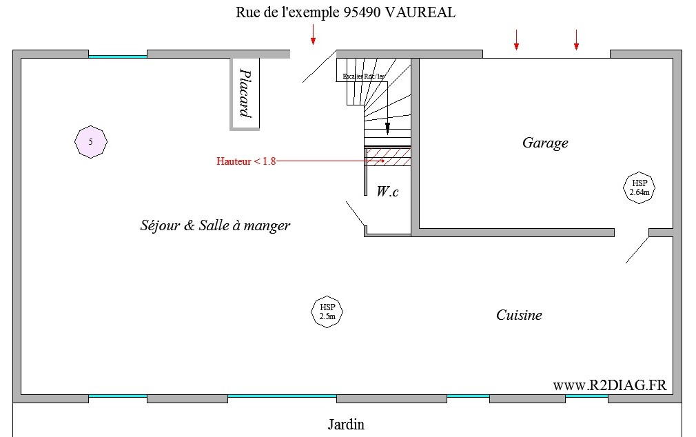 les attestations de surface (vente/location) : | r2diag - Calcul Surface Habitable Maison Individuelle