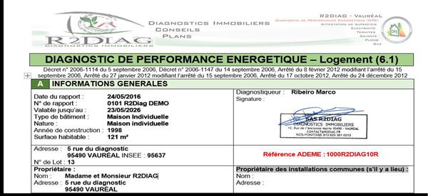 depuis le 1er juin 2013 chaque dpe doit tre envoy lobservatoire des dpe ademe